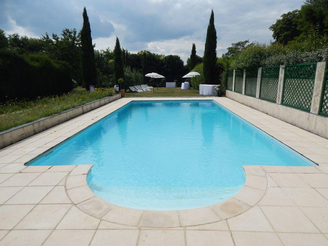 La piscine | Haras de la Potardière