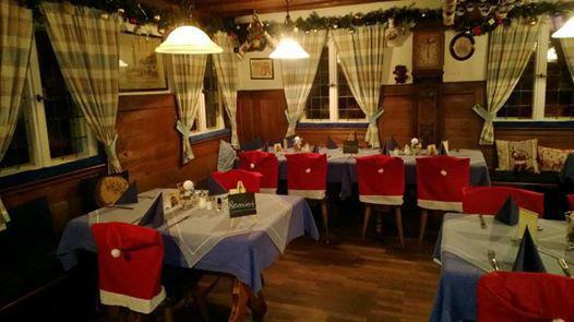 Beispiel: Saisondekoration, Foto: Historisches Restaurant Lutzgarten.
