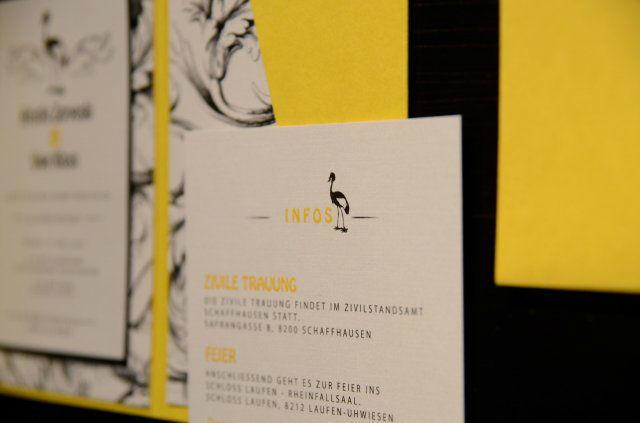 Beispiel: Persönliche Einladungskarten, Foto: Die Kartenfee.