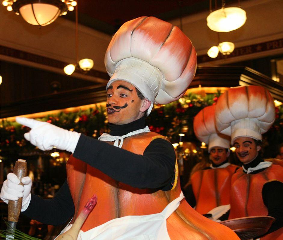 Les Cuistots Citrouilles (Les Grands Chefs de la Haute Gastronomie Française)