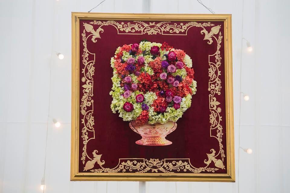 Finos cuadros con flores naturales