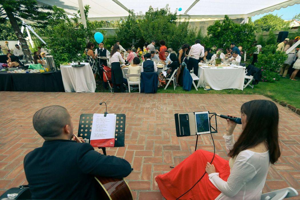 Música banquete