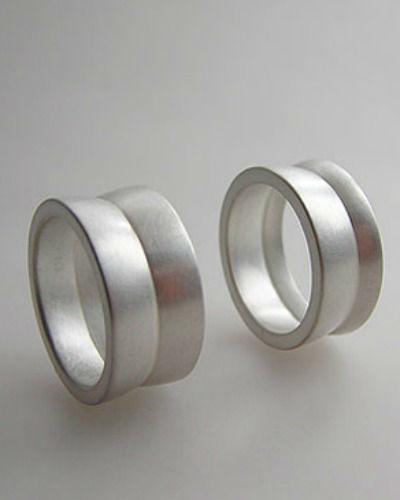 Beispiel: Trauringe - Silber, Foto: detail3.