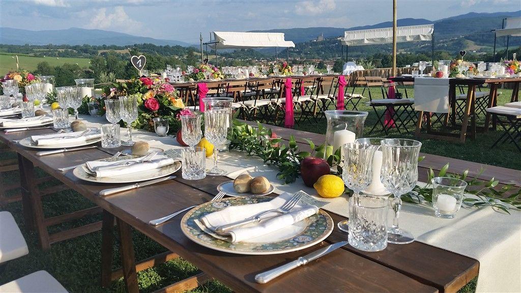 Lo Scalco catering ricevimenti Firenze Matrimonio in campagna