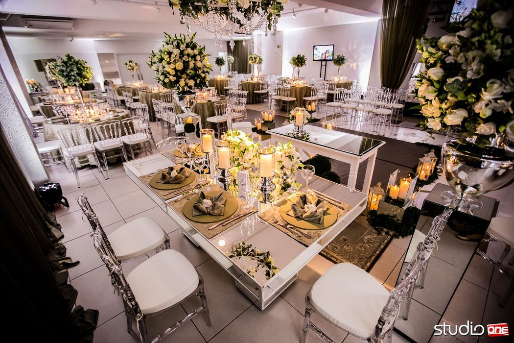Mesa dos noivos. Foto Studio One