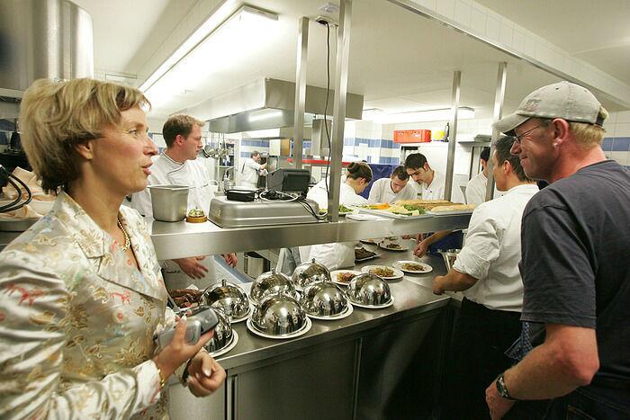 Beispiel: Küche, Foto: Dämeritz Seehotel.