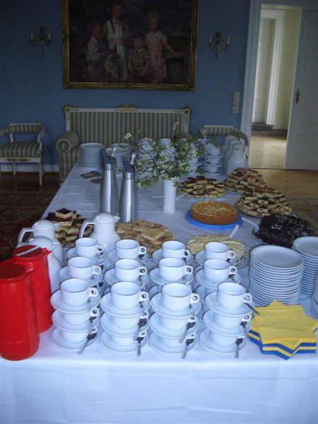 Beispiel: Kaffeetafel, Foto: Gut Sennickerode.