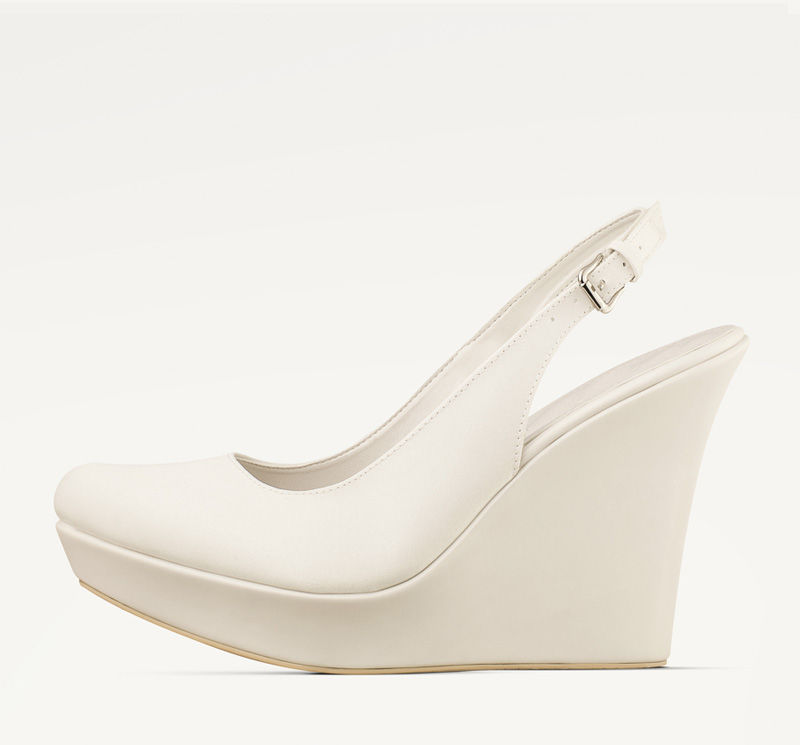 Chantal tan cómodas y elegantes ¡amamos estos zapatos de novia!