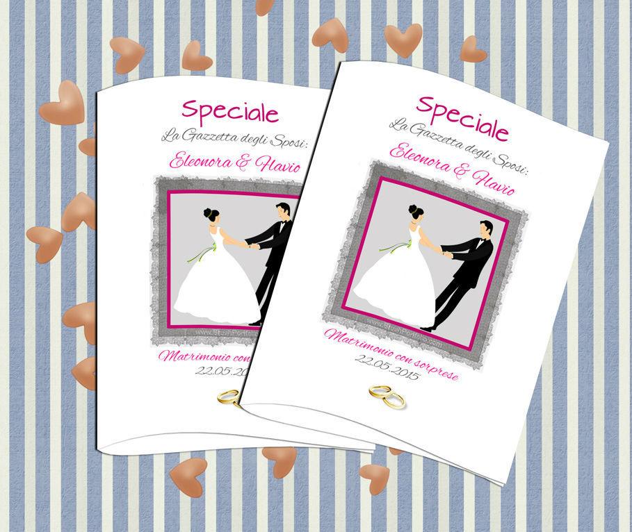 Semplici passi per realizzare un giornale degli sposi  http://www.schobuk.it/