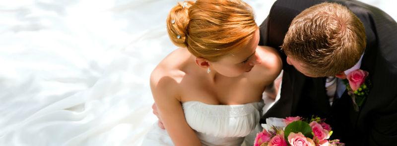 Beispiel: Schmuck für Braut und Bräutigam, Foto: Juwelier Reiher.