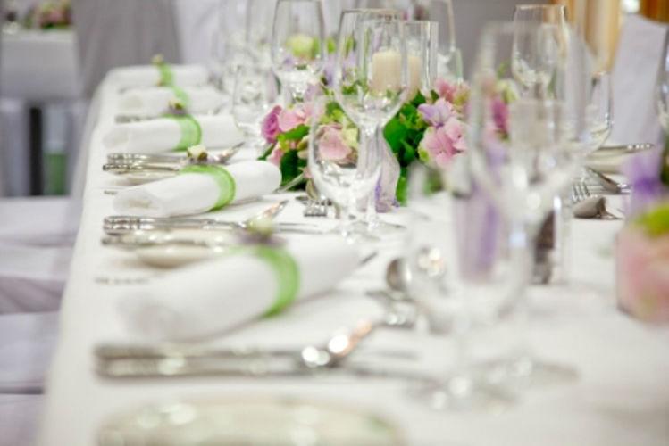 Beispiel: Leckere Hochzeitsmenüs, Foto: Hotel Schachner.