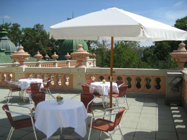 Beispiel: Terrasse, Foto: Kursalon Wien.