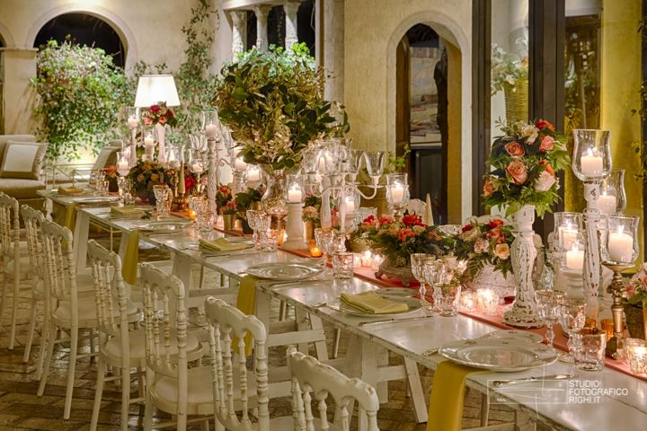 Lo Scalco catering ricevimenti Firenze Mise in tema shabby