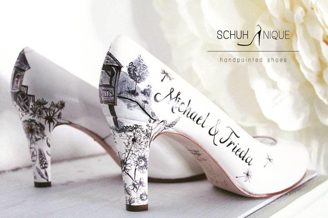 Schuhnique - handpainted shoes