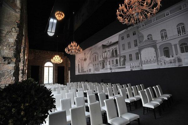 Beispiel: Festsaal - Konferenzbestuhlung, Foto: Kurländer Palais.