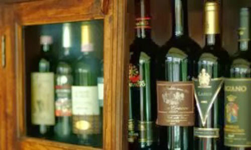 Beispiel: Weinauswahl, Foto: Ristorante Italiani.