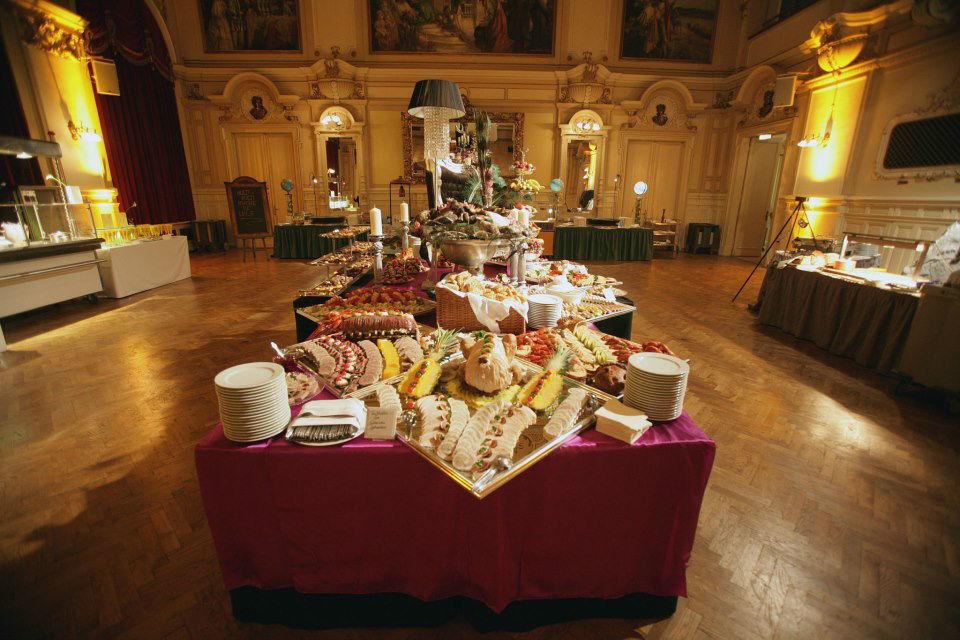 Beispiel: Reichliche Buffets, Foto: Fest & Gast Catering.