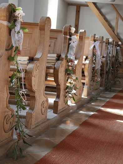 Beispiel: Kirchenschmuck, Foto: Rosalie.