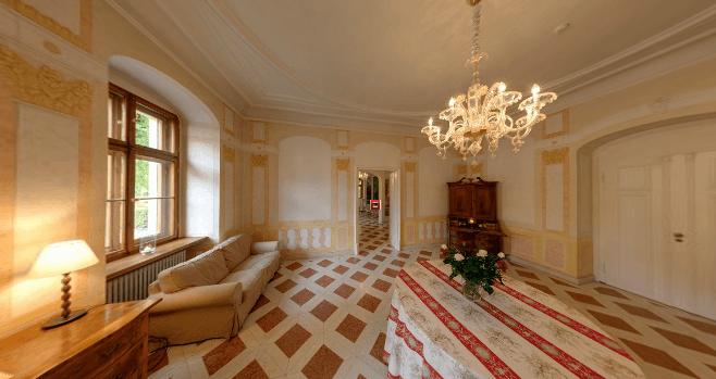Beispiel: Italienische Gartensäle, Foto: Schloss Proschwitz.