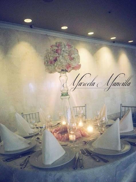 Centros de Mesa para boda Colombia.
