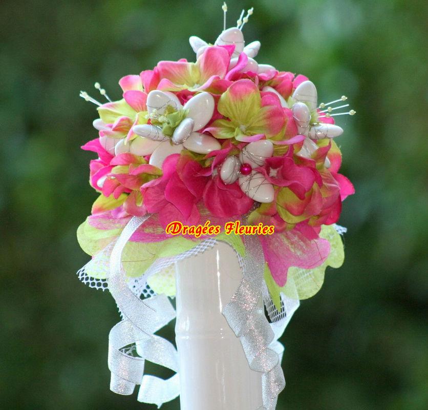 Dragées Fleuries Bouquet mariée