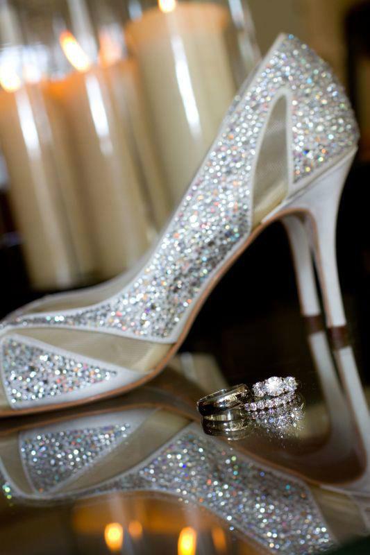 Beispiel: Schuhe für Ihre Hochzeit, Foto: Paradox London.