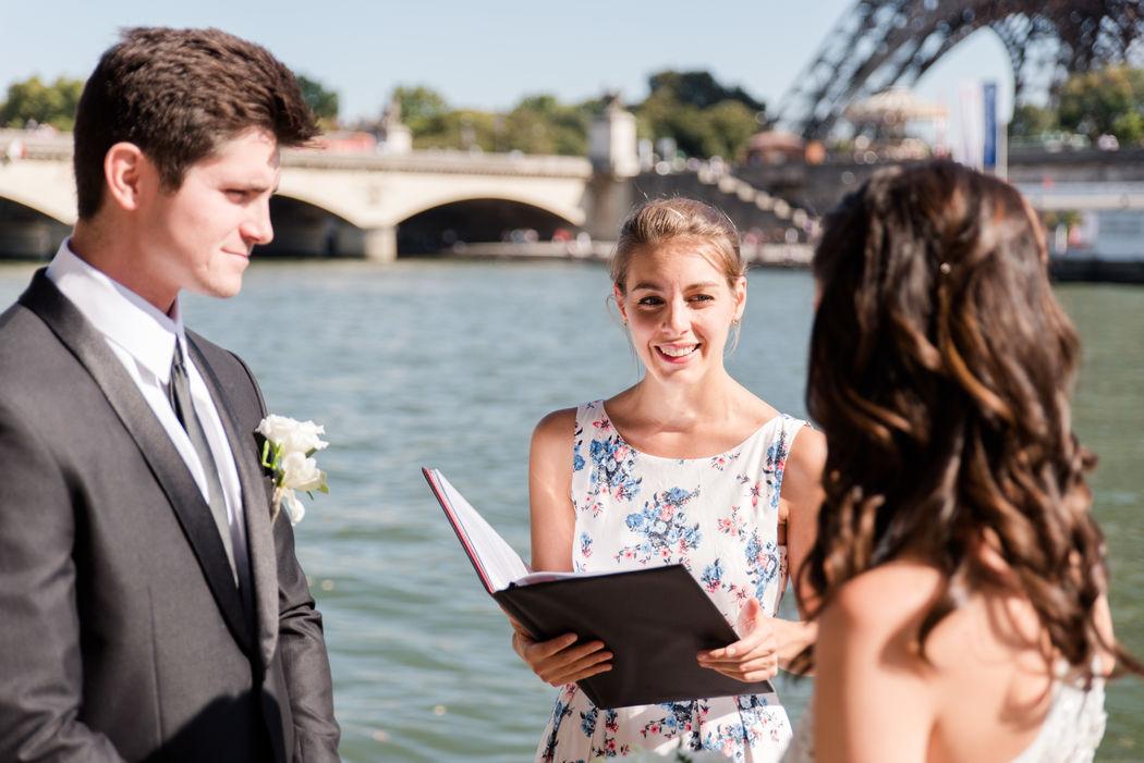Anouck Mugnier Officiante - Pierre et Julia Photographes