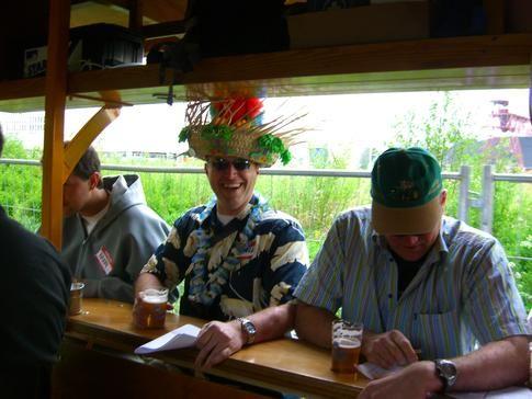 Beispiel: Stimmung auf dem BierBike, Foto: BierBike Ulm.