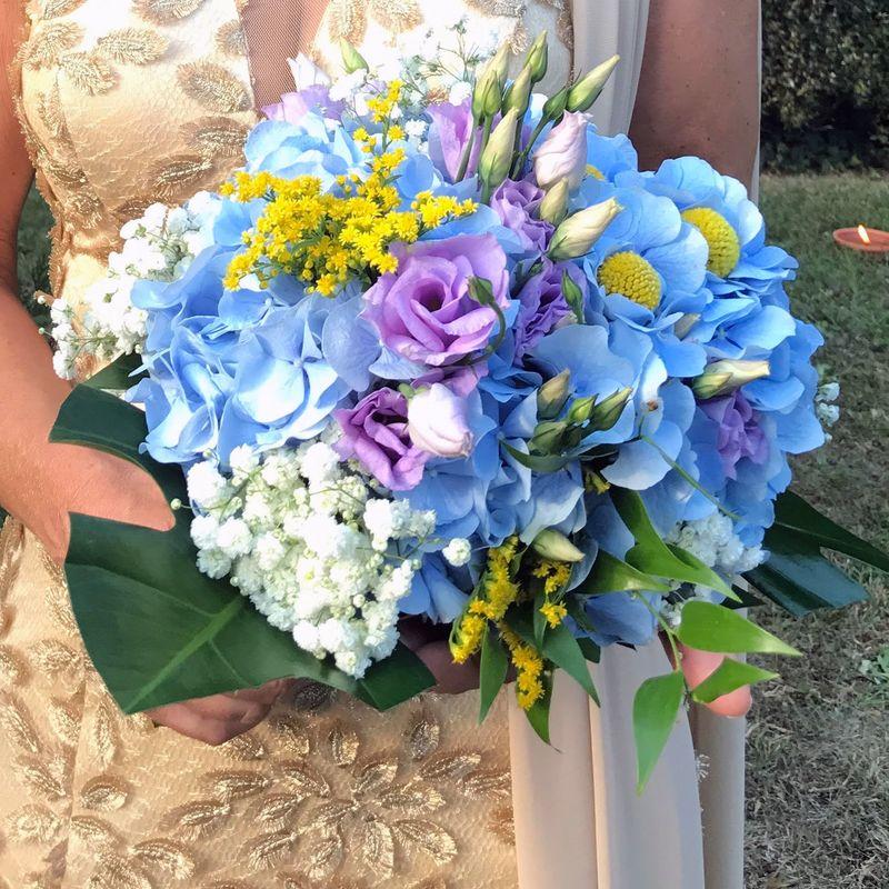 bouquet romantico estivo
