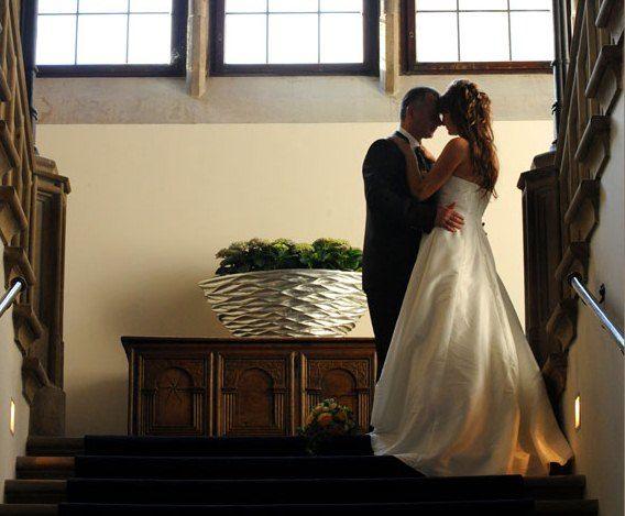 Beispiel: Brautpaar, Foto: Schloß Eckberg.