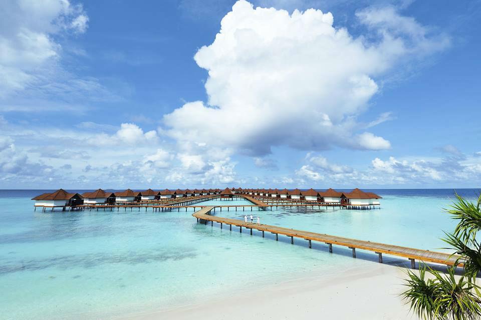 Beispiel: Resort auf den Malediven, Foto: TUI.