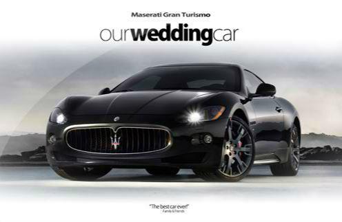 Wedding Studios, samochody do ślubu