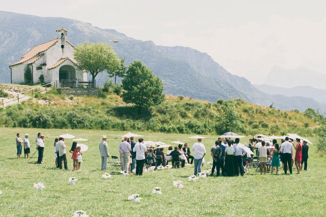 boda en la ermita de san urbez