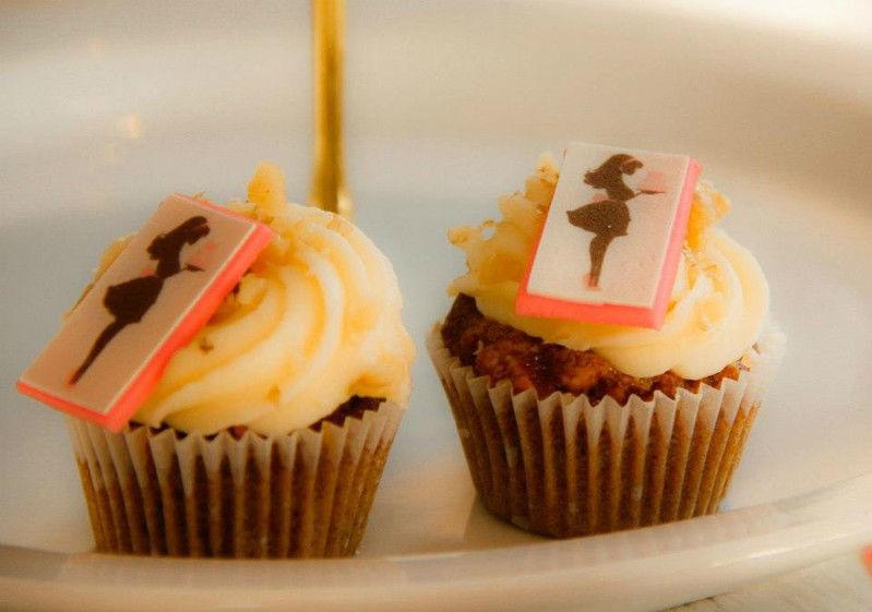 Beispiel: Cupcakes für Ihre Hochzeit, Foto: The Cake Boutique.
