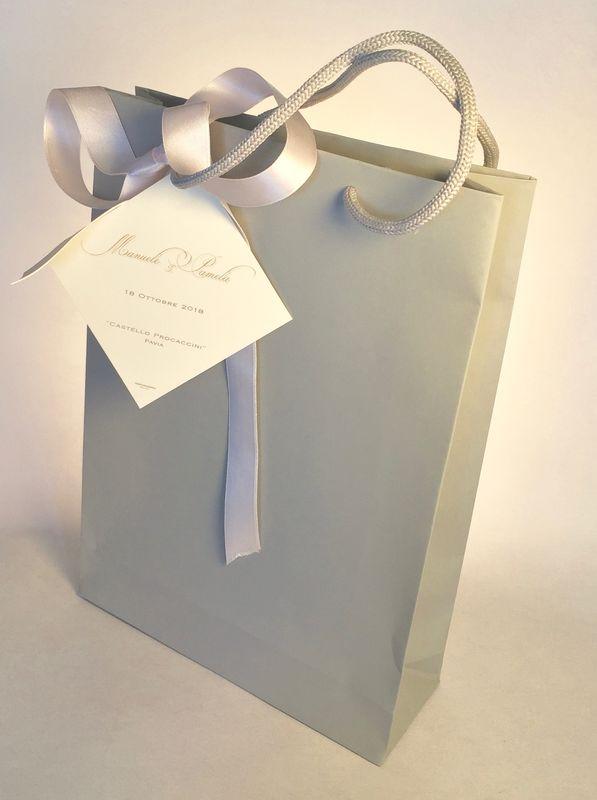Wedding Bag per raccogliere i ricordi del tuo meraviglioso matrimonio