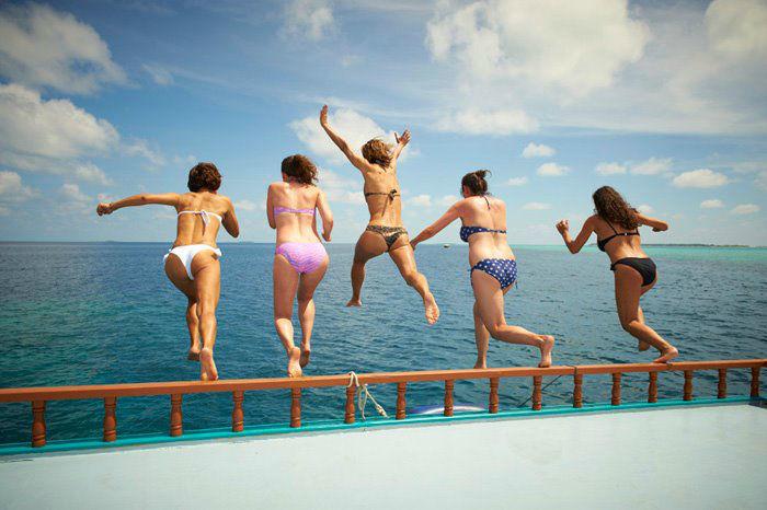 Badespaß auf den Malediven, LUX*Maldives