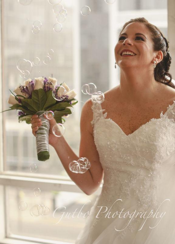 Matrimonio Vero y Kike Entre burbujas