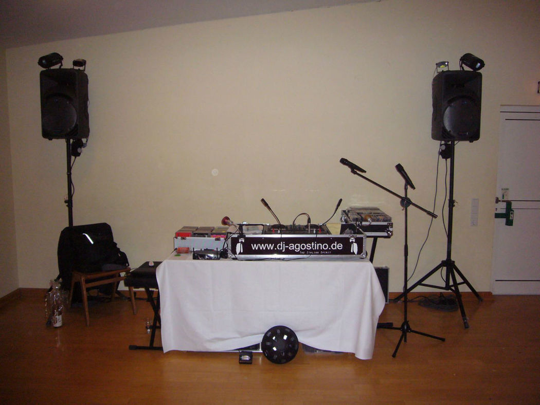 Beispiel: Equipment, Foto: DJ Agostino.