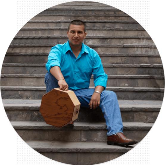 Miguel Cruz Mestanza - Percusionista