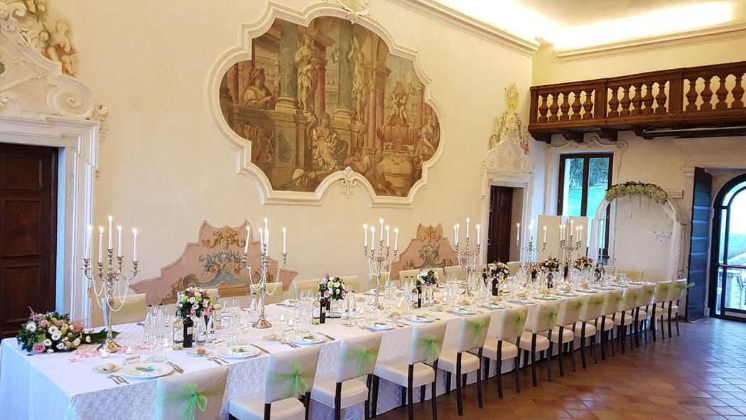 Tavolo imperiale nella Sala delle Note