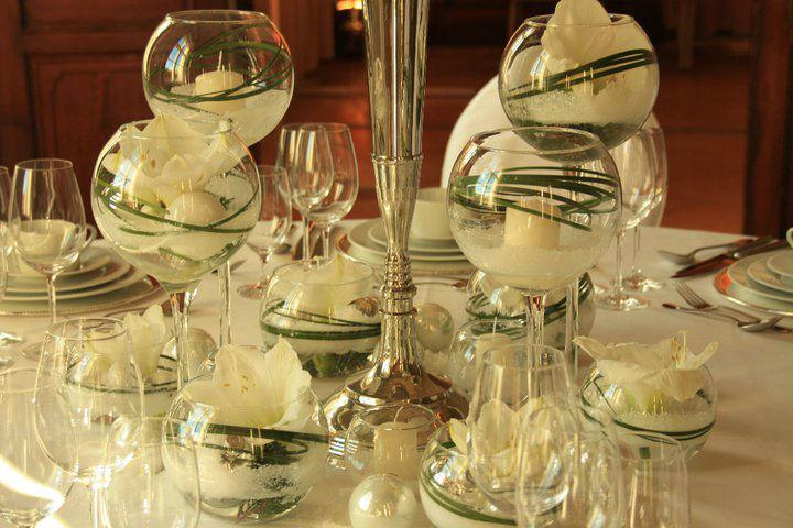 Beispiel: Wunderschöne Dekorationen, Foto: Floris Catering.