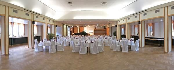 Beispiel: Hoffmannsaal, Foto: Hoffmannhaus Fallersleben.