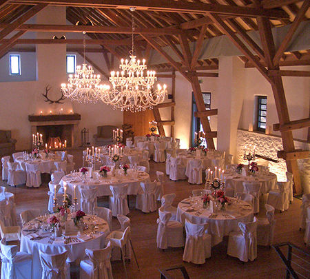 Beispiel: Festsaal, Foto: Hofgut Maisenburg.