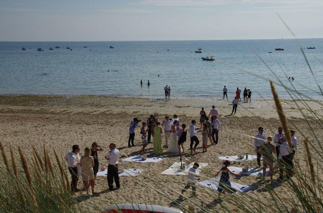 Mariage sur la plage - ile de Ré