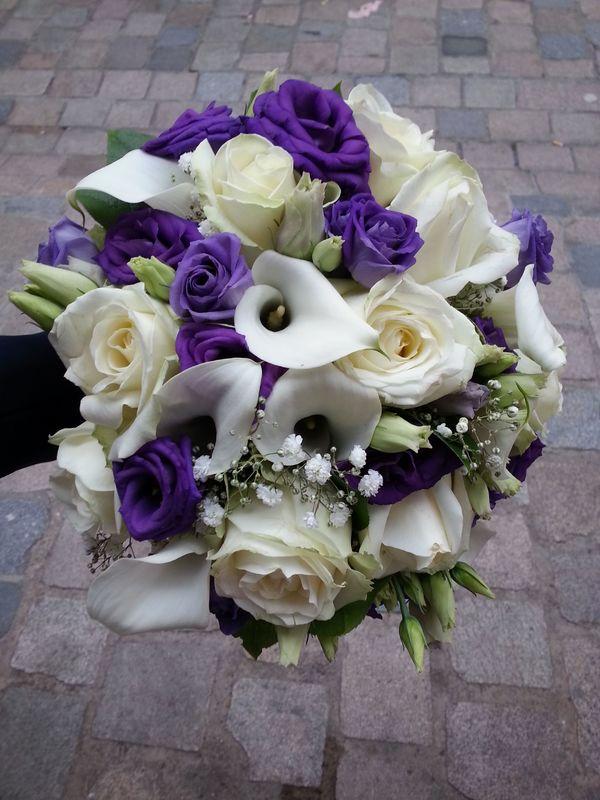 Bouquet de forme ronde