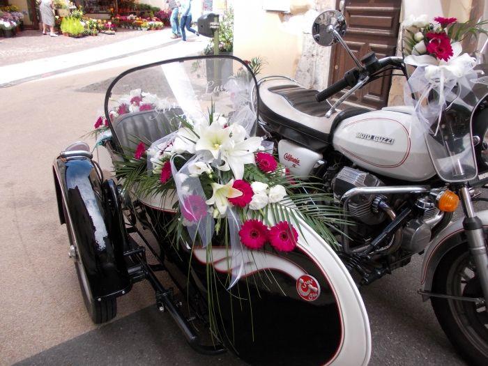 Mariage en side-car