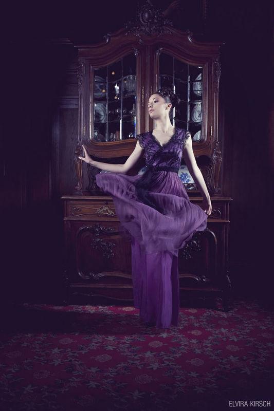 Beispiel: Elegante Kleider für eine Hochzeit, Foto: Elvira Kirsch.