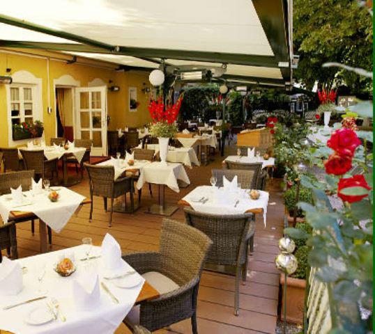 Beispiel: Restaurant-Garten, Foto: Freisinger Hof.