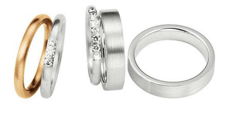 Beispiel: Finden Sie Ihre persönlichen Ringe, Foto: Juwelier Holzhammer.