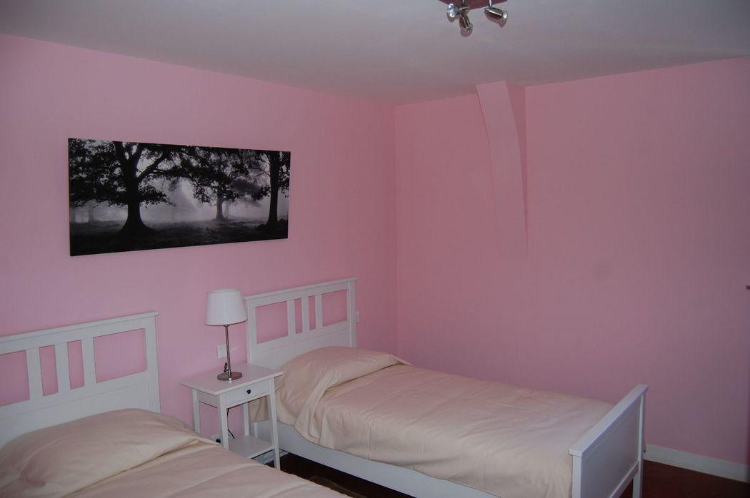 gite des communs (8 chambres) chambre rose